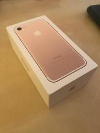 iPhone 7 Gold 128 GB Brand New