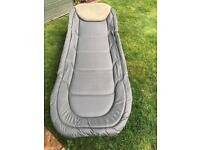 Trakker bed chair and sleeping bag