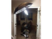 Studio Photography Continuous Lighting Kit 2 X 135W Flash Light Set