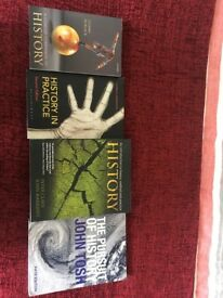 University History Text Book Collection, Four Volumes
