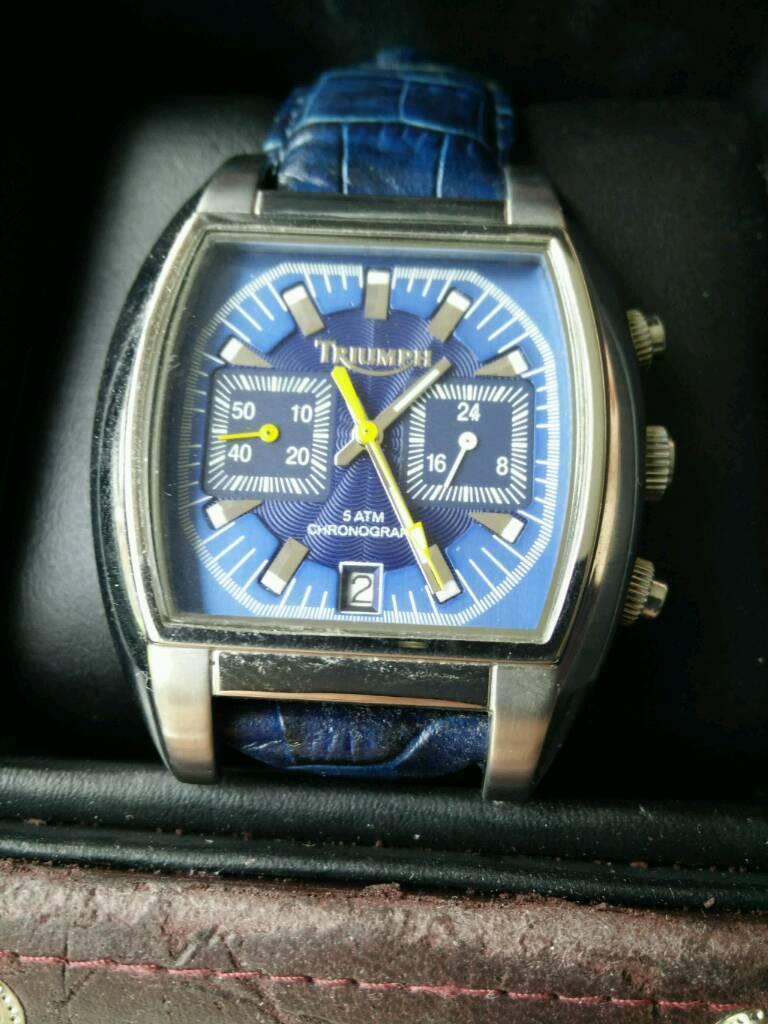 triumph chronograph watch | in knightswood, glasgow | gumtree