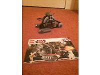 Lego starts Wars corporate alliance tank droid(7748)