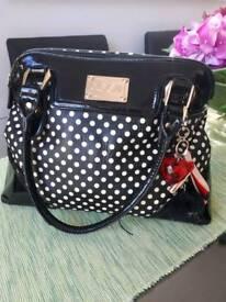Floozie spotted handbag