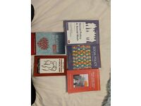 SOCIAL WORK TEXT BOOKS. Perfect for 1st yr