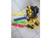 Resistance bands and TRX (body sculpt)