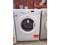 White Hotpoint SmartTech A++ from 1 to 8 kg. washing machine
