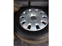 VW T5/6 original steel wheels with new tyres & trims