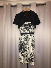 Ladies dress, size 16 with bolero