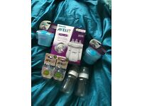 Avent Baby bottle collection...