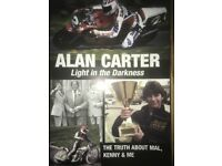 signed Alan Carter book