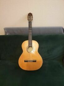 Classic Guitar Santos Martinez SM20 - Natural w/Gig Bag - 2nd Hand-6 strings fully working