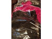 Brand new Girls pink and black Donnay tracksuit aged 13. Pink and black.