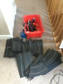 Scalextric track Quantity of track for sale