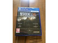 resident evil biohazard, ps4 , brand new & sealed ! price stands , no offers !