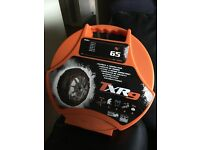 Brand new car snow chains and a pv3 record vice brand new for swap