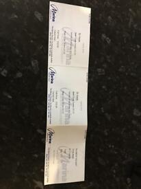 Dr Hook live tickets x 2 lowestoft