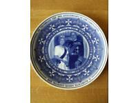 3 commerative queen Elizabeth plates