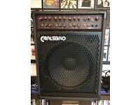 CARLSBRO COBRA K115 P.A. bass and keyboard amplifier