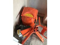 Belle Petrol Cement Mixer & Stand (NEW)