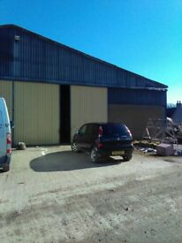 Commercial shed / store with good access and high clearance