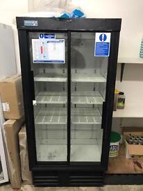 Staycold 880 fridge double slide door