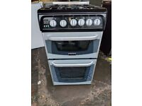 Black Cannon Gas Cooker (50cm) (6 Month Warranty)
