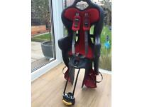 Child cycle bike seat / carrier