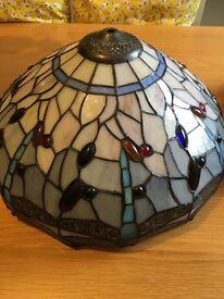 Beautiful glass Tiffany style light shades