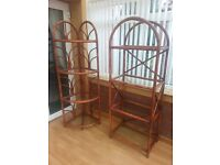 Cane conservatory display units