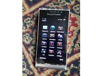 Rare 12.1 Megapixel Sony U1i Smart Phone