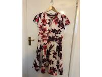 Floral dress size 16 new