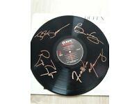 Queen signed record Freddie Mercury