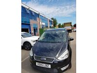 2015 FORD GALAXY AUTOMATIC, FOR PCO DRIVERS HIRE, DIESEL, BLACK, 7 SEATER, PCO READY,