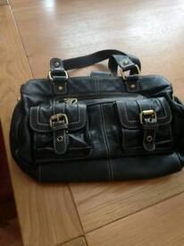 Leather Jasper Conran handbag