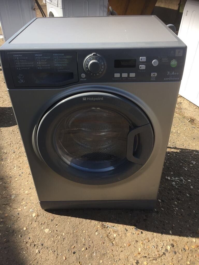 Hotpoint Top Loading Washing Machine Hotpoint Wmef742 7kg 1400 Spin Washing Machine In Silver 3568