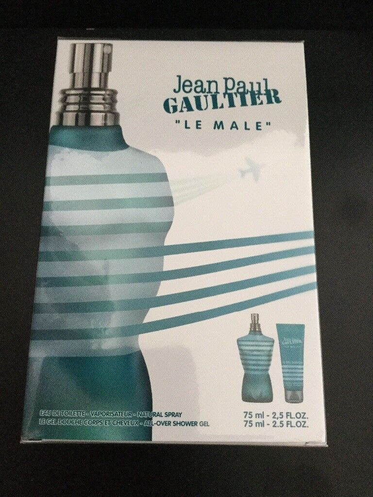 Brand New & Official Jean Paul Gaultier Le Male Gift Set