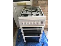 Gas cooker and double bed with mattes a fish tank a jet washer £150