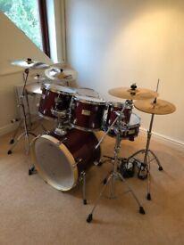 Mapex V Series 7 Piece Drum Kit FOR SALE