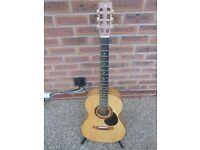 Acoustic Graham Warren Parlour Guitar