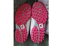 Ladies Footjoy Golf Shoes Size 6.5