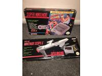 Original uk pal Super Nintendo boxed boxed and scope