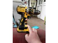 Dewalt twin drill & impact driver set