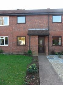 Modern 1 bed mid terrace house in Dowsland/ Blackbrook area, Taunton with gardens & parking.
