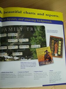 Family Tree Creator Deluxe - New (Version- Win 98) Kitchener / Waterloo Kitchener Area image 7