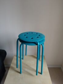 nice two stacking stools