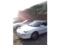 toyota mr2 2.0 gt breaking, spares or repairs, parts