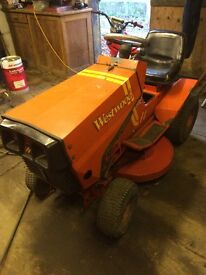 Westwood ride on mower diesel