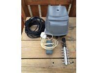 Hozelock Air Pump 45lpm, fish pond air pump 2700lph