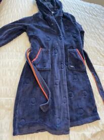 Baker dressing gown