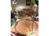 Fisher Price Jumperoo with extra replacement noisy unit!